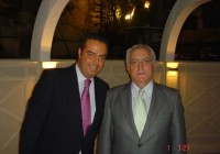 With Mr. Gabriel García Alonso (President of Relais & Châteaux)