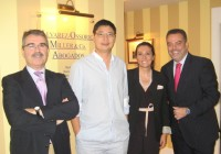 The President of the Association of Chinese Merchants and Businesspeople in Spain visits the Firm