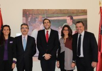 Álvarez-Ossorio Miller & Co. with the Dean of the European University of Madrid