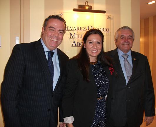 D. Lorenzo Olarte Collen, político y jurista, visita Álvarez-Ossorio Miller & Co.